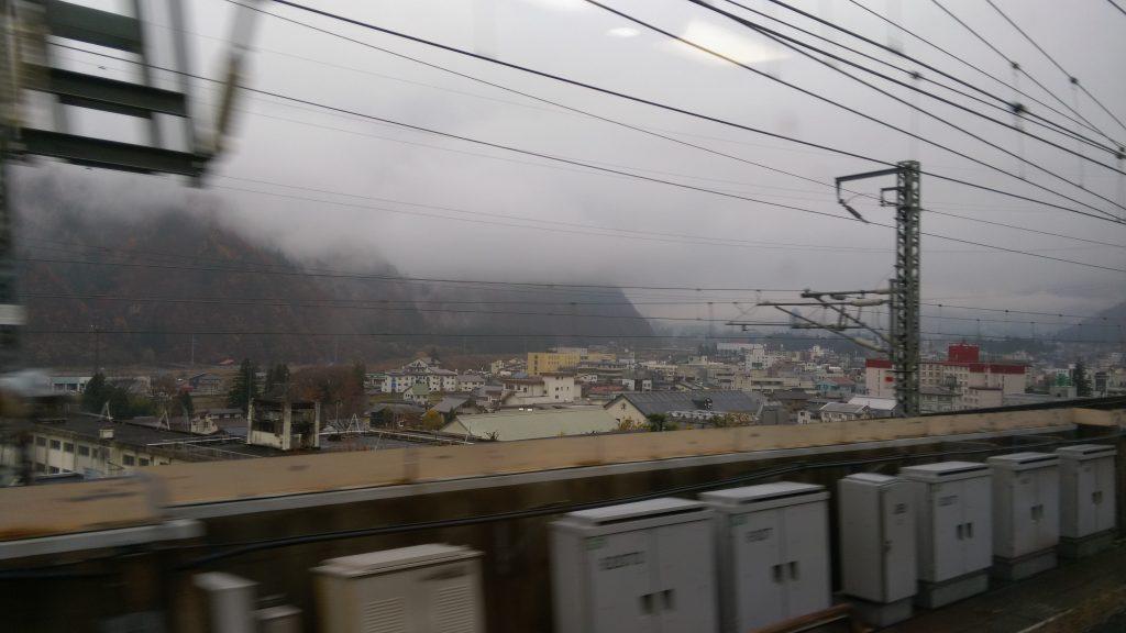 越後湯沢を発車